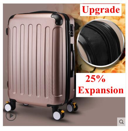 Brand 20 inch 22 24 inch Rolling Luggage Suitcase Boarding Case travel luggage Case Spinner Cases Trolley Suitcase wheeled Case vintage suitcase 20 26 pu leather travel suitcase scratch resistant rolling luggage bags suitcase with tsa lock