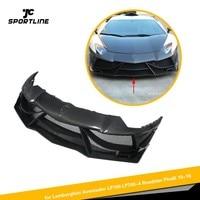 Carbon Fiber Front Bumper Lip Spoiler Case for Lamborghini Aventador LP700 LP700 4 Roadster Pirelli 2010 2016