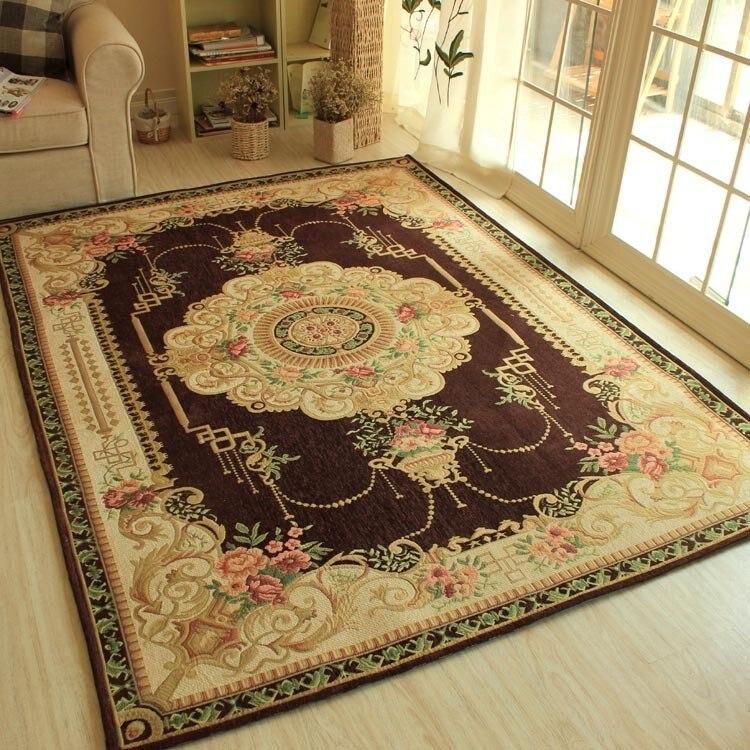 HUAMAO Nostalgic Retro Basket Carpets For Living Room Fresh Home Bedroom Rugs Study Room Brief Floor Mat Coffee Table Area Rug