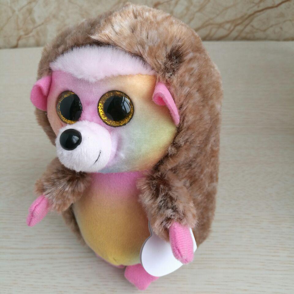 0c9129ca2f1 TY BEANIES 25CM 10inch Ida hedgehog pinecone hedgehog Big Eyes Plush Toys Stuffed  animals children toy soft toy home decor -in Stuffed   Plush Animals from  ...