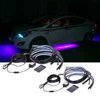 Newest High Power RGB Colorful Flash Strobe Underbody Flexible Glow System Tube LED Strip Light LED
