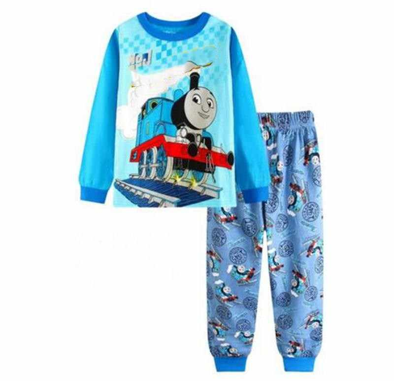 New Kids sets for boys Sleepwear Cotton Pyjamas Babys Clothing high-quality Baby Sets Underwear suits kids pajama sets 2-7y A060