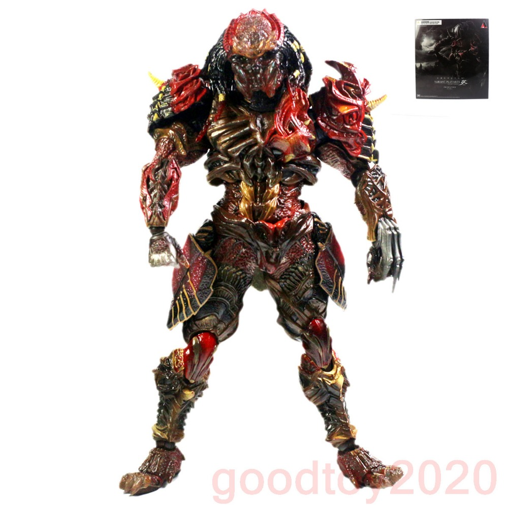 Square Enix Predator Variant Play Arts Kai Action Figure PAK001028 super street fighter iv akuma gouki white variant play arts kai action figure