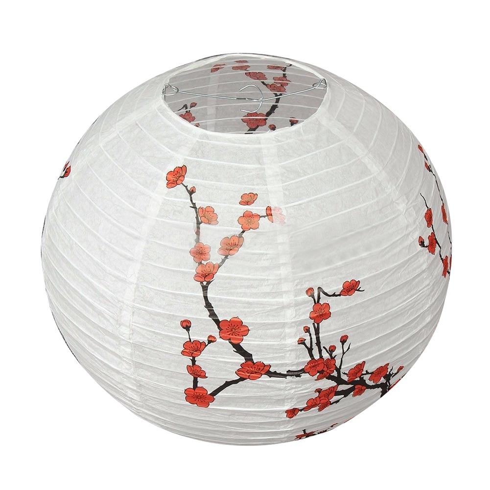 14'' Lamp Shade Paper Lantern Oriental Style Light Decoration