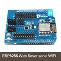 ESP8266 Веб-Север серийный WiFi платы расширения shiled ESP-12E для arduino uno r3