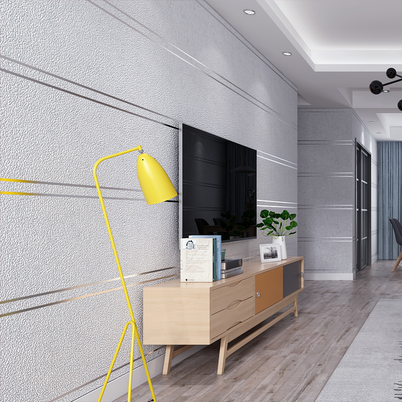 Flocking Suede Ceramic 3d Stripe Wallpaper Roll for Living Room TV Background 3d Marble Wall Paper Wallcoverings 3d papel parede wallpaper modern anchos travelling boat modern textured wallcoverings vintage kids room wall paper papel de parede 53x1000cm