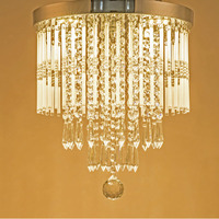 ZYY Luxury k9 Crystal Dining Room Lamp, modern Livingroom Restaurant Home Bedroom Droplight Led Modern High Quality