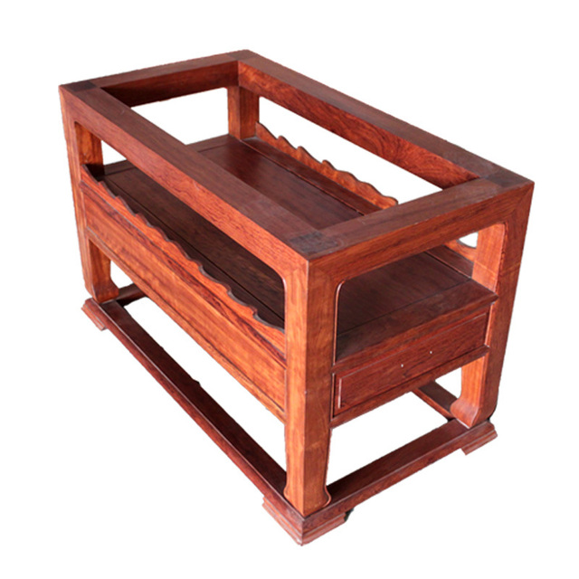 Pakistan Flowers Legs Solid Wood Slab Tables Stand Table Chazhuo - Wood slab conference table