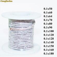 Fil de cuivre émaillé et polyester, brins, 0.1x50, 0.1x60, 0.1x70, 0.1x80, 0.1x90, 0.1x100, 0.1x120, 0.1x128, 0.1x140, 150