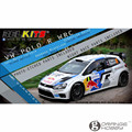 OHS Belkits BEL005 1/24 Polo R WRC Scale Assembly Car Model Building Kits