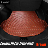 Custom fit Car trunk mats cargo Liner for Land Rover Range Rover L405 6D heavy duty car styling rugs carpet floor liners(2012 pr