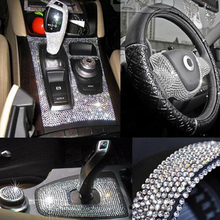 1600Pcs=2 sheets Crystal Diamond Rhinestone Car/Mobile/PC Decor Decal Styling Accessories Art Self Adhesive Scrapbooking Sticker crystals rhinestones car decor decal styling accessories mobile art diamond self adhesive sticker flat acrylic drilling stickers