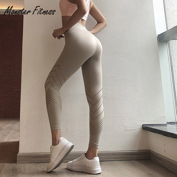 2018 frauen Yoga Hosen Geerntete Hose Sport Leggings Hohe Taille Push Up Workout Gym Lauf Workout Fitness Sport Leggings