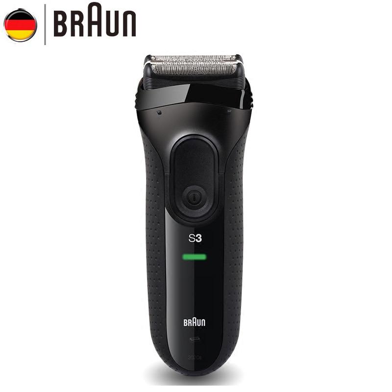 Orignal Braun Série 3 Électrique Rasoirs 3020 S Lames Alternatif Rasage Machine Rasoir Électrique Pour Hommes Cheveux Tondeuse