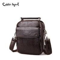 Cobbler Legend Men Messenger Bags Top Genuine Leather Designer Handbags Man Shoulder CrossBody Bag Male Quality