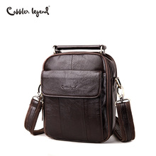 Cobbler Legend Men Messenger Bags Top Genuine Leather Designer Handbags Man Shoulder CrossBody Bag Male Quality Mens Bag Cowhide cobbler legend genuine leather men bags flap casual handbags male shoulder crossbody bags messenger men leather bag top handle