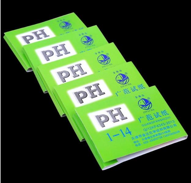 DHL 2000pack 80 Strips pack PH Test Strips Full PH Meter PH Controller 1 14st Indicator