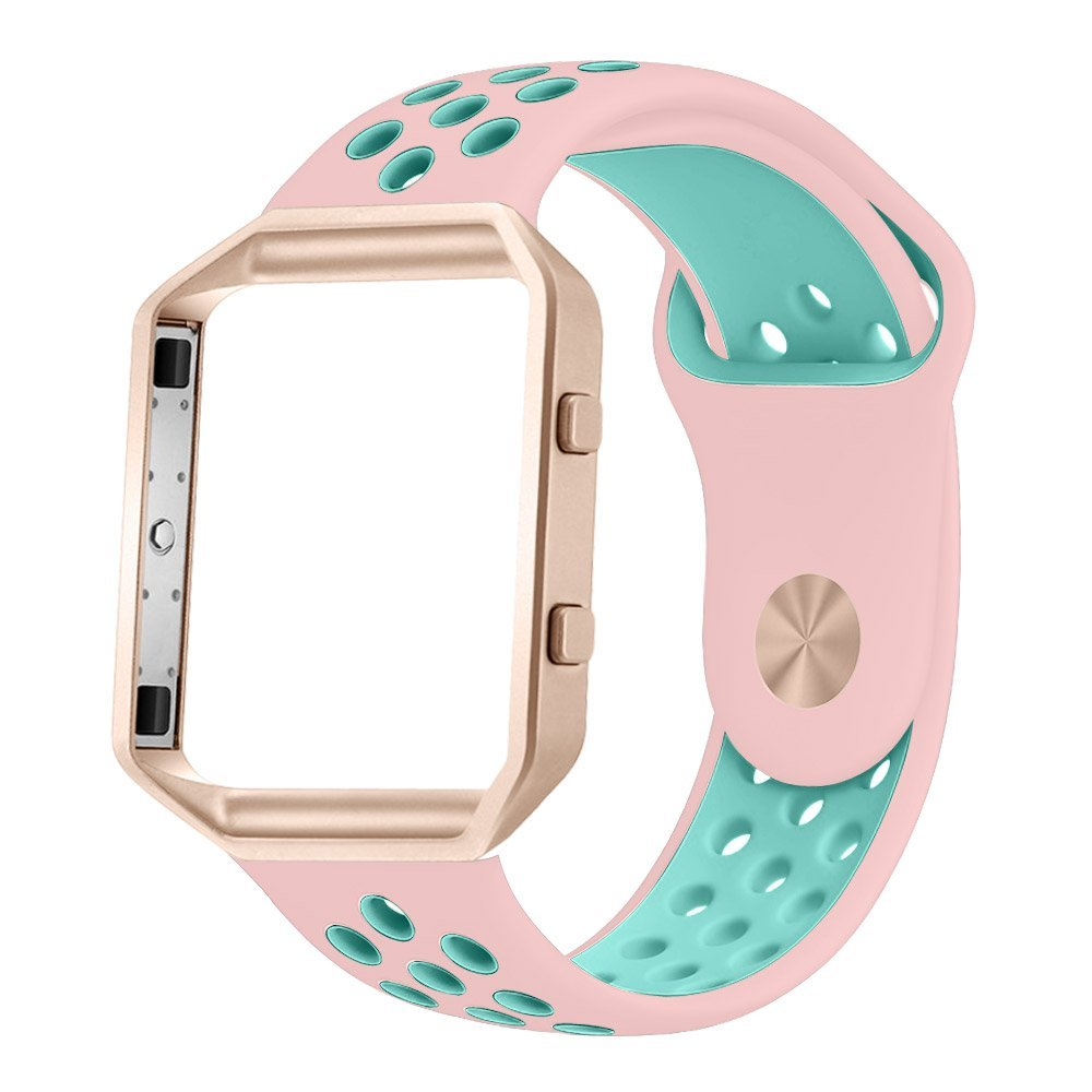 EIMO Sport Soft Silicone Watch band For Fitbit Blaze strap Replacement bands Fitbit Blaze Smart Watch Frame fabulous multi color luxury tpu silicone watch band strap for fitbit blaze smart watch watch band hot sale dropship claudia