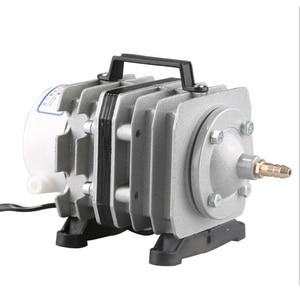 Image 4 - SUNSUN aquarium electromagnetic air compressor air pump is suitable for large aquarium pond aerator 220V With hose and gas stone