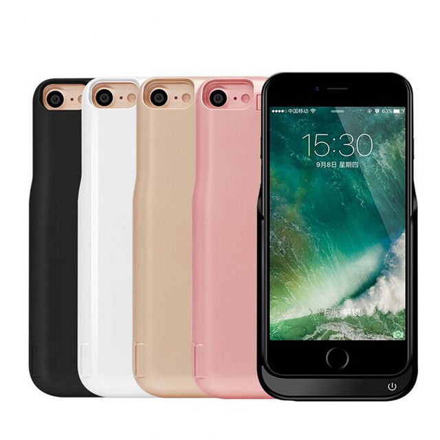 7Plus Backup External Battery Charger Case for iPhone 7 Case 7000mA Charge Cell Phone Cover for iphone7 Battery Case Portable