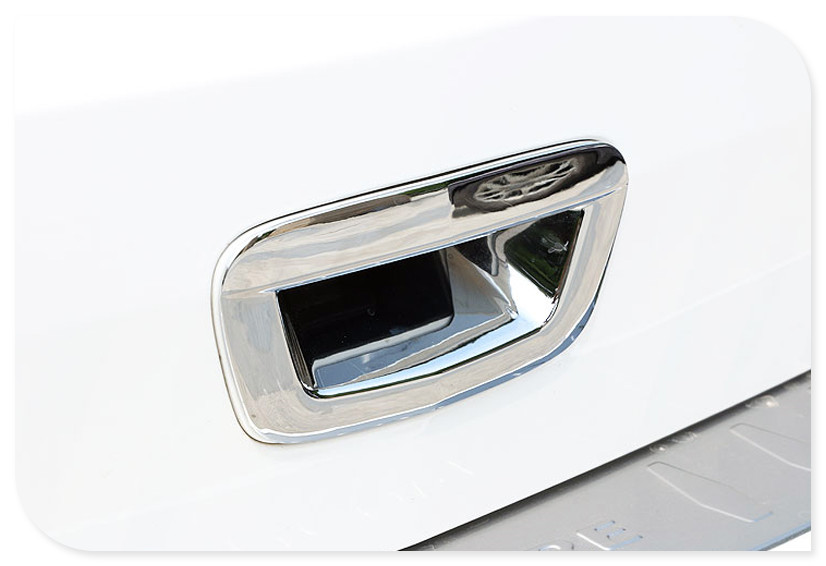 Chrome Rear door handle bowl cover 1pcs Car Exterior Accessories car styling For Vauxhall Opel Mokka 2013 2014 2015 2016 2017