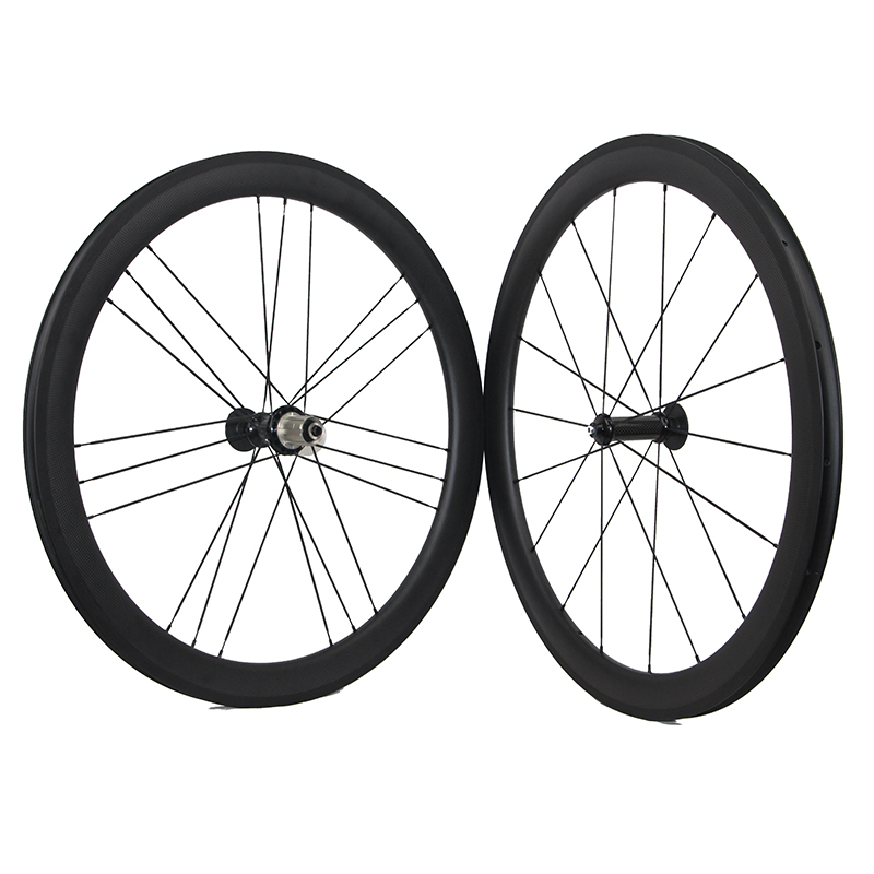 Bicycle Wheel 700C Clincher Bicycle Road Carbon Wheelset 50mm Carbon Clincher Wheelset Carbon Bicycle Cycling Racing Wheelset carbon road wheel ceramic bike hub 700c 88mm clincher racing wheel wholesale carbon road racing wheel