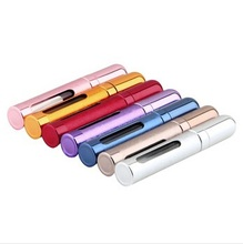 Hot sale Mini Portable Refillable Perfume Atomizer Spray Bottles Empty Bottles 9 colors to choose
