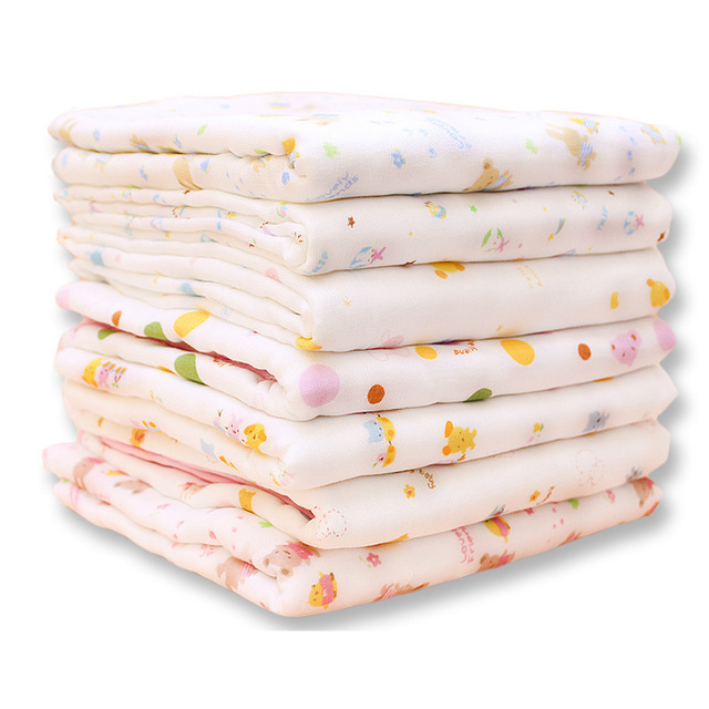 Cotton gauze towel baby bath towel super soft thick cotton towel newborn baby towel T6306