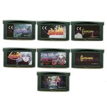 Castlevania Serie Geheugen Cartridge Kaart voor 32 Bit Video Game Console Accessoires