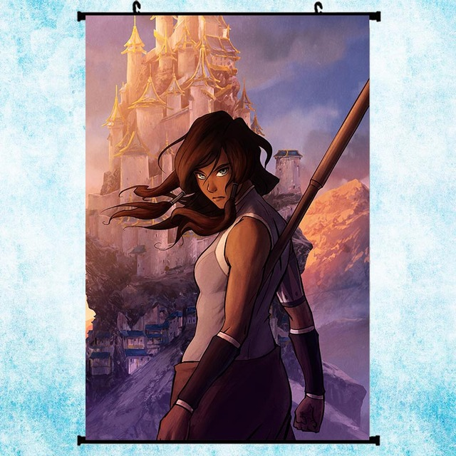 Avatar 2 Poster: Avatar The Legend Of Korra Hot Anime Art Silk Poster Wall