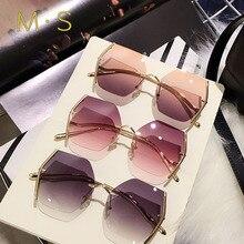 MS 2019 Female Sunglasses Brand Designer Summer  Sun Glasses Fashion Women Luxury Decoration Classic Eyewear UV400