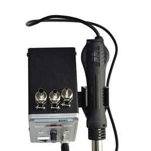 Image 5 - Station de soudure SMD sans plomb LED fer à souder numérique pistolet à Air chaud souffleuse Eruntop 858D 858D +