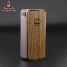 Augvape Druga Foxy Copper Box Mod Quick Release Patent Design Plus And Minus Button To Adjust Voltage Zinc Alloy VV/VW Mod Vape