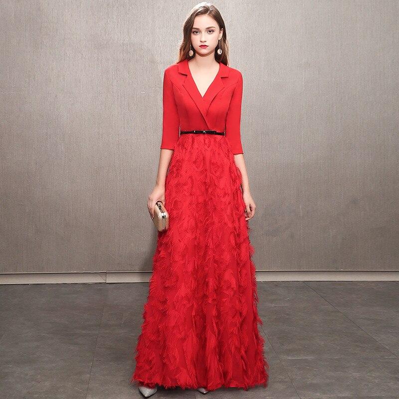 weiyin White Evening Dresses 2019 Elegant Lace Evening Gowns Long Formal  Evening Dress Styles Women Prom Party Dresses WY1166-in Evening Dresses  from ... 6bbc9a437006