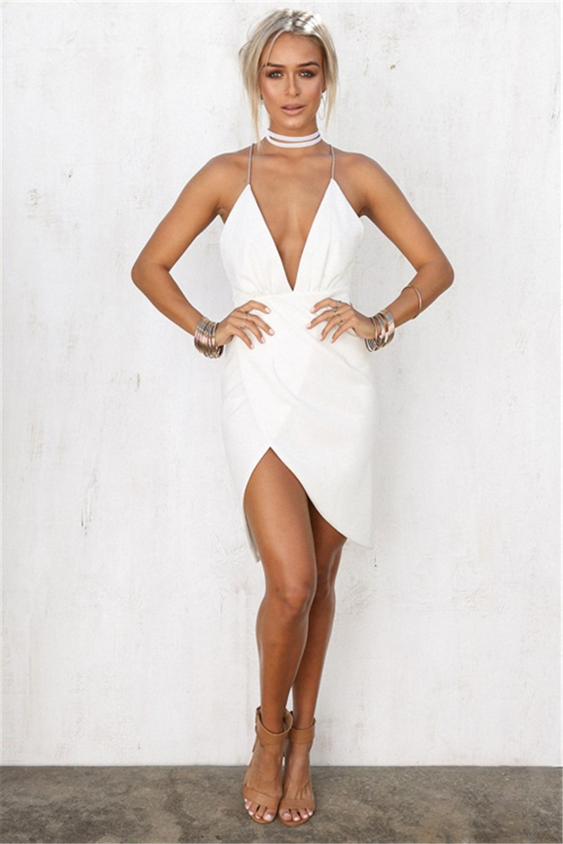 dresses-plunging-white-dress-1