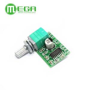 Image 3 - 100 PAM8403 mini 5 V placa amplificador digital com interruptor potenciômetro pode ser alimentado por USB