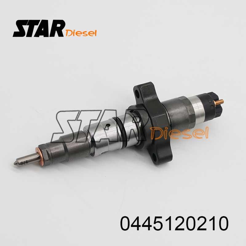 0 445 120 210 Diesel Motor Brandstof Injector 0445120210 Common Rail Diesel Injectie Nozzle 0445 120 210 Geselecteerd Materiaal
