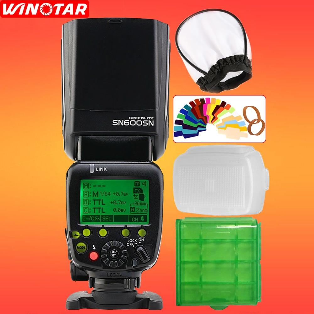 Shanny SN600SN Master Flash Speedlight i-TTL HSS 1/8000s for Nikon D7500 D7200 D7100 D5600 D5500 D5300 D5200 D3400 D3300 D3200 voking vk430 i ttl lcd display blitz speedlight flash for nikon d5500 d5300 d3300 d7200 d3400 d5300 d500 d7500 d750 d5600