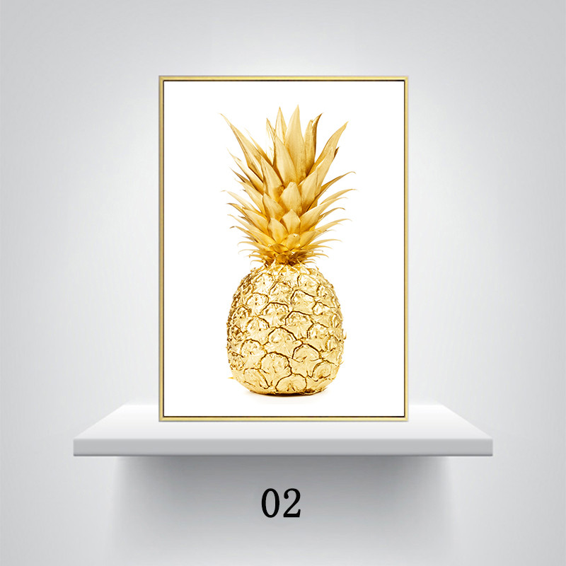 Old Fashioned Pineapple Wall Decor Ornament - Wall Art Collections ...