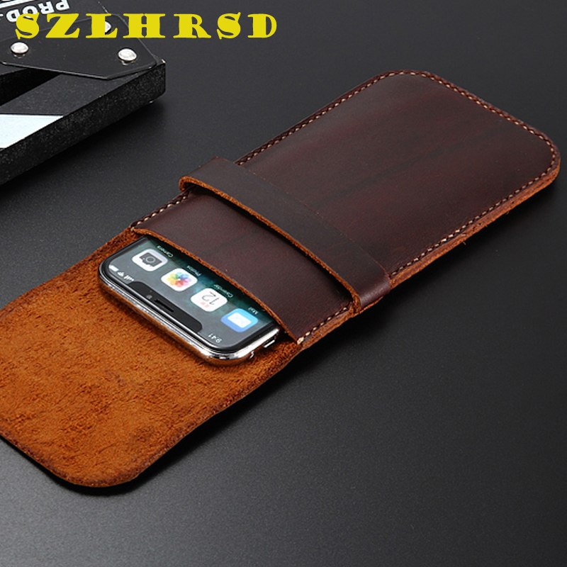 forr <font><b>Sony</b></font> <font><b>Xperia</b></font> 1 II Genuine Leather Wallet <font><b>Case</b></font> for <font><b>Sony</b></font> <font><b>Xperia</b></font> <font><b>10</b></font> II <font><b>Cases</b></font> Phone bag <font><b>Cover</b></font> Retro card holder for <font><b>Xperia</b></font> L4 image