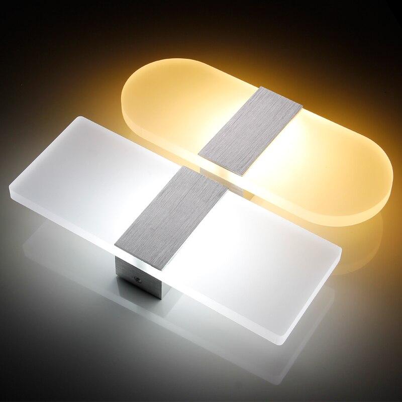 Zerouno 現代の Led ウォールライト器具階段照明燭台ランプ 2700 18K ウォームホワイトベッドサイドウォールランプバスルームの鏡ライト  グループ上の ライト & 照明 からの LED 室内壁掛け照明 の中 1