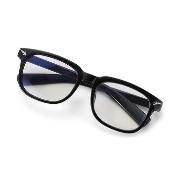 Computer Glasses Ray Glasses Anti Blue Light Eyeglasses Optical Eye Spectacle UV Blocking Gaming Filter Eyewear Rivet