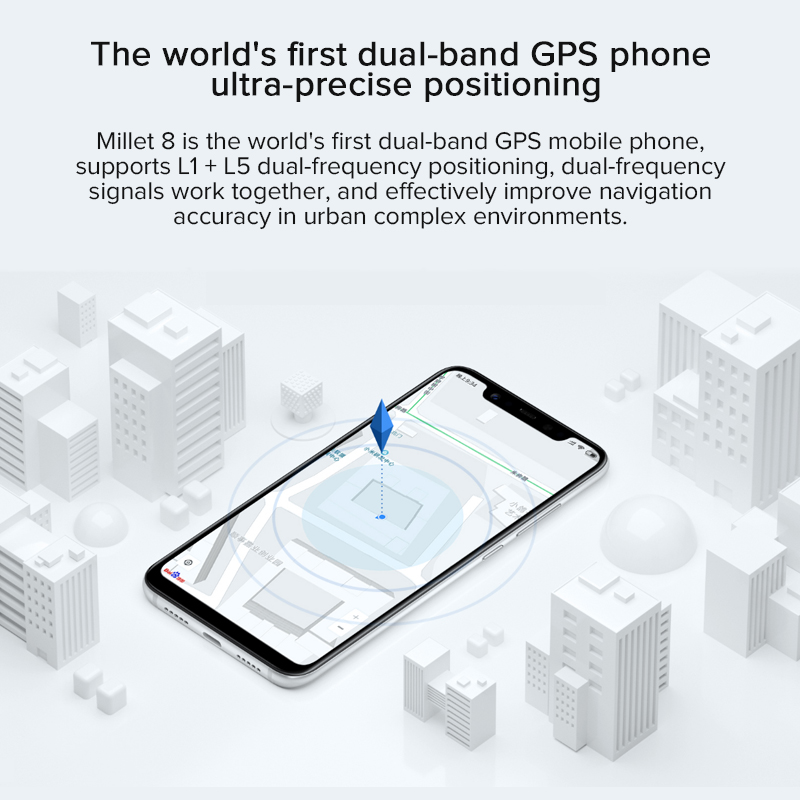 US $309 99 20% OFF|Original Xiaomi Phone Mi8 Mi 8 Snapdragon 845 6GB RAM  64GB ROM Octa Core 6 21