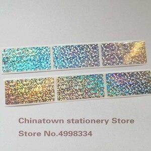 Image 2 - 1000 adet 1 inç x 2 inç küçük nokta lazer Scratch Off etiketler etiketleri biletleri promosyon oyunları