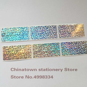 Image 2 - 1000pcs 1inchx2inch Small dot laser  Scratch Off Stickers Labels Tickets Promotional Games