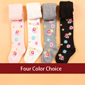 Children Tight Pantyhose Girls And Infants Kids Flower Tights Soft Cute 100 Cotton Kids Baby Girl Stocking Winter 70D0683
