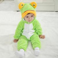 Newborn Lovely Animal Style Infant Baby Romper Spring And Autumn Baby Girl Rompers Forg Jumpsuit For