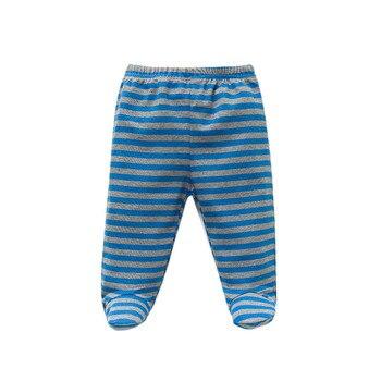Baby's Cotton Pants with Elastic Waist 3 pcs Set 5