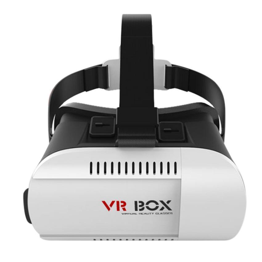 HESTIA 3D helmet VR virtual reality experience mirror game glasses box  black Lens 3D Immersive for 4 7 ~ 6 Inch Mobile Phone