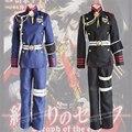 Japanese Anime Seraph Of The End Guren Ichinose Cosplay Costume Uniform Animation Clothing Battle Dress